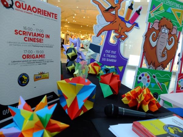 Qua Oriente - Origami