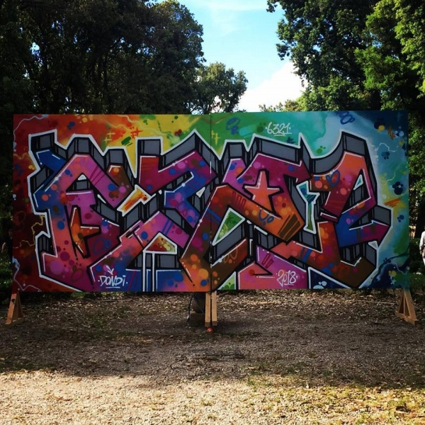 Tags & Comics - Graffiti